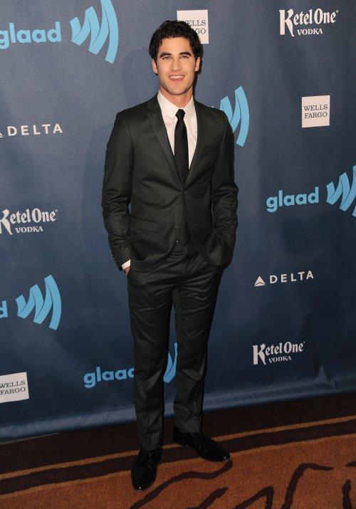 El actor Darren Criss en la gala Glaad 2013