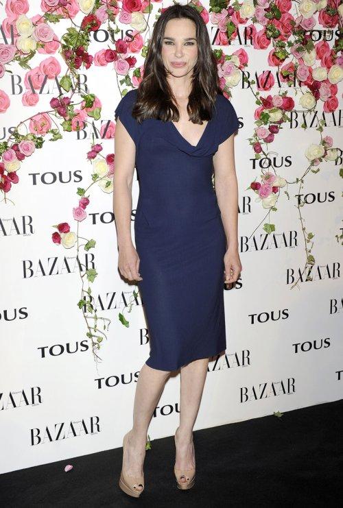 La presentadora Beatriz Montáñez durante la presentación del perfume de Tous, Rosa