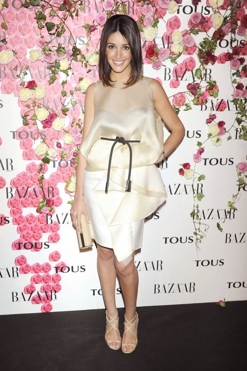 La modelo Noelia López en la presentación del perfume de Tous 'Rosa'