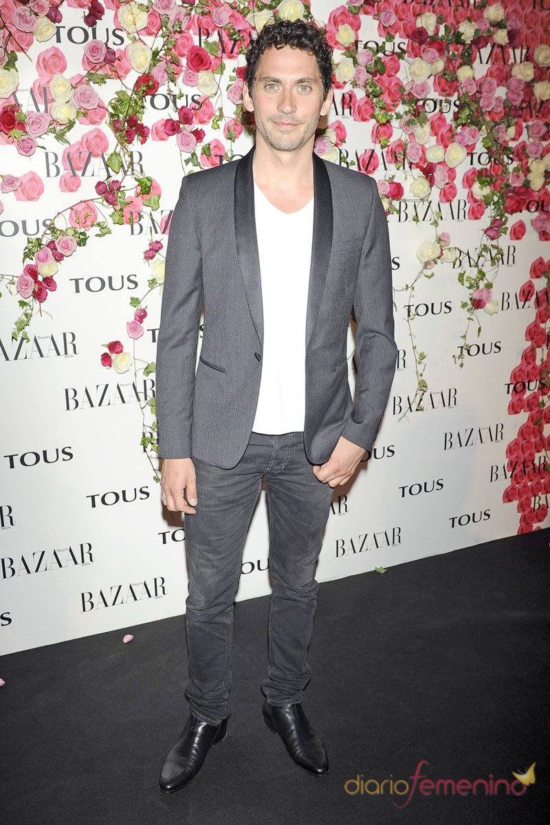 Paco León, muy masculino en la presentación del perfume de Tous 'Rosa'