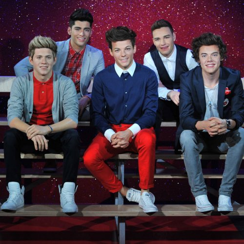 La foto de los One Direction de cera en Nueva York