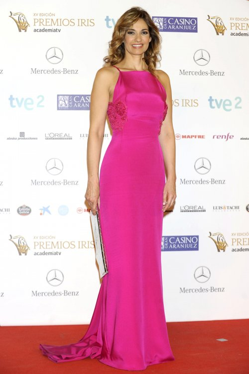El look de Mariló Montero, la famosa presentadora de los Premios Iris 2013