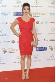 El look de Paula Prendes durante los Premios Iris 2013