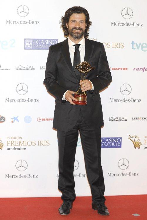 El look de Rodolfo Sancho, actor de 'Isabel', durante los Premios Iris 2013