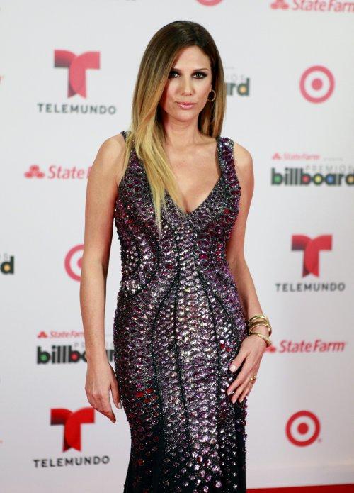 La presentadora Daisy Fuentes en los Billboard Latinos 2013