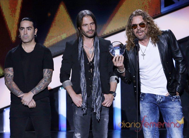 La banda Maná en los Billboard Latinos 2013