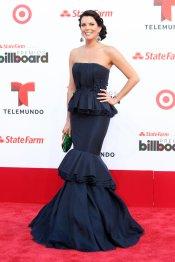 El look de Maritza Rodríguez en la alfombra roja de los Billboard Latinos 2013