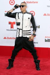 Taboo, integrante de The Black Eyed Peas, en la gala Billboard Latinos 2013