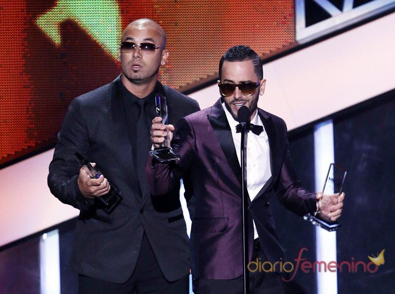 Wisin y Yandel celebran un Billboard Latino 2013