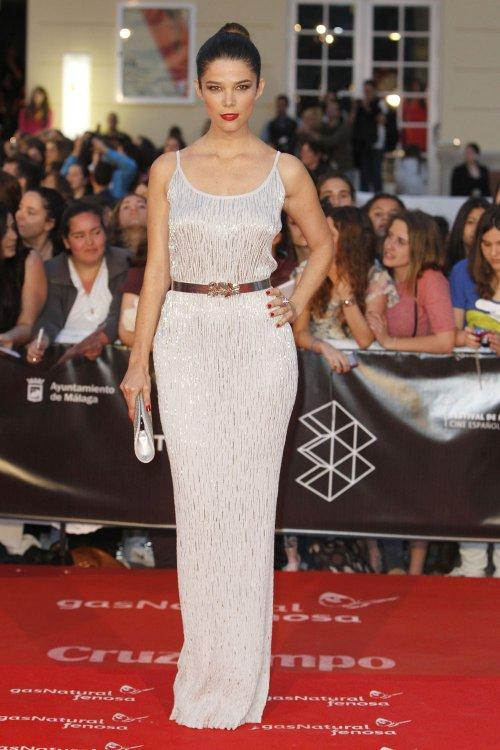 Juana Acosta en la alfombra roja del Festival de Málaga 2013