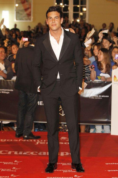 Mario Casas en la alfombra roja del Festival de Málaga 2013