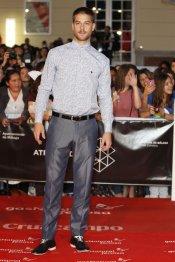 Luis Fernández en la alfombra roja del Festival de Málaga 2013