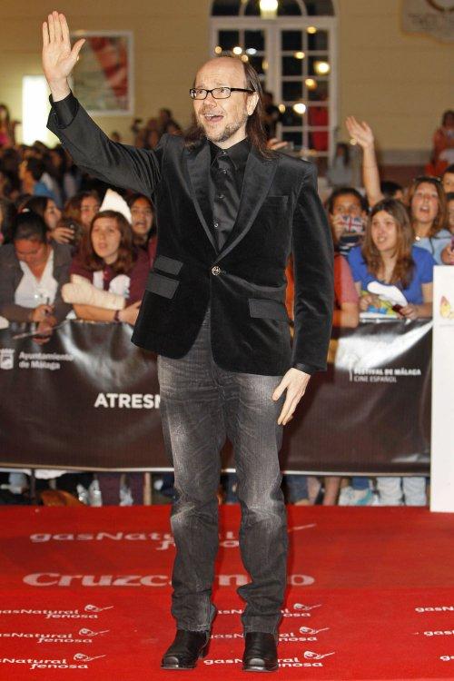 Santiago Segura en la alfombra roja del Festival de Málaga 2013