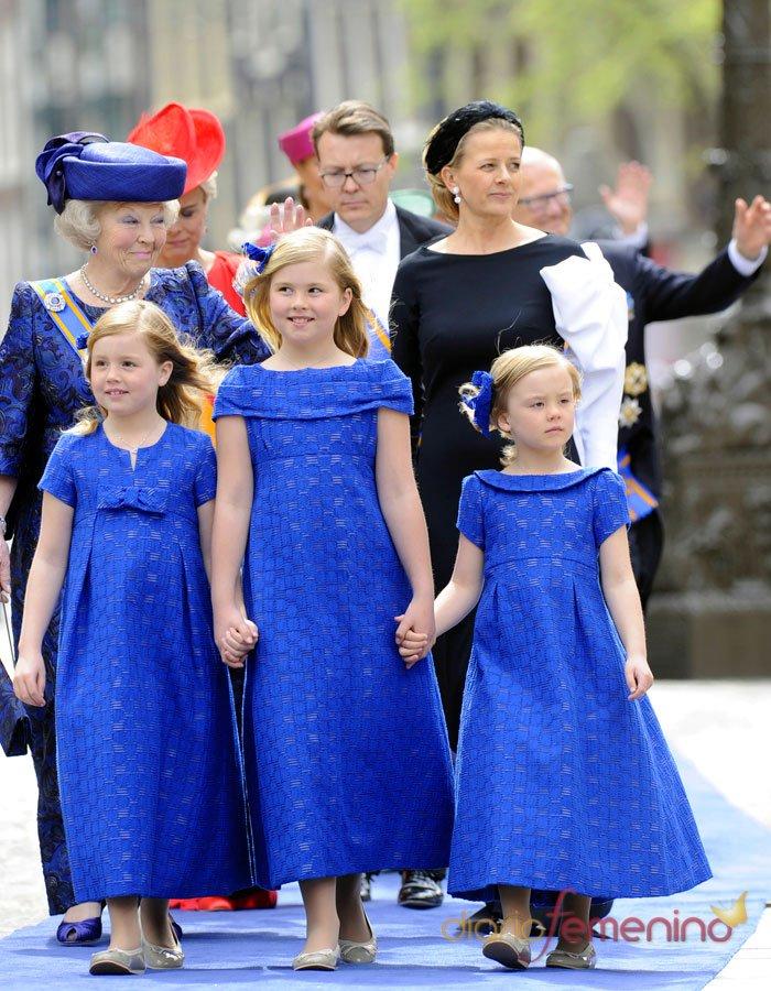 Amalia, la nueva heredera: Las hijas de Guillermo y Máxima de Holanda