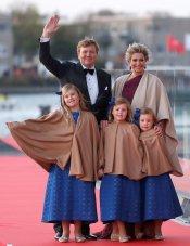 La Familia Real de Holanda al completo: Guillermo y Máxima junto a sus hijas