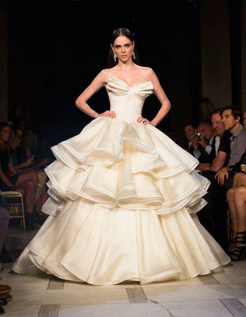 Vestidos de novia: un traje de boda al estilo princesa