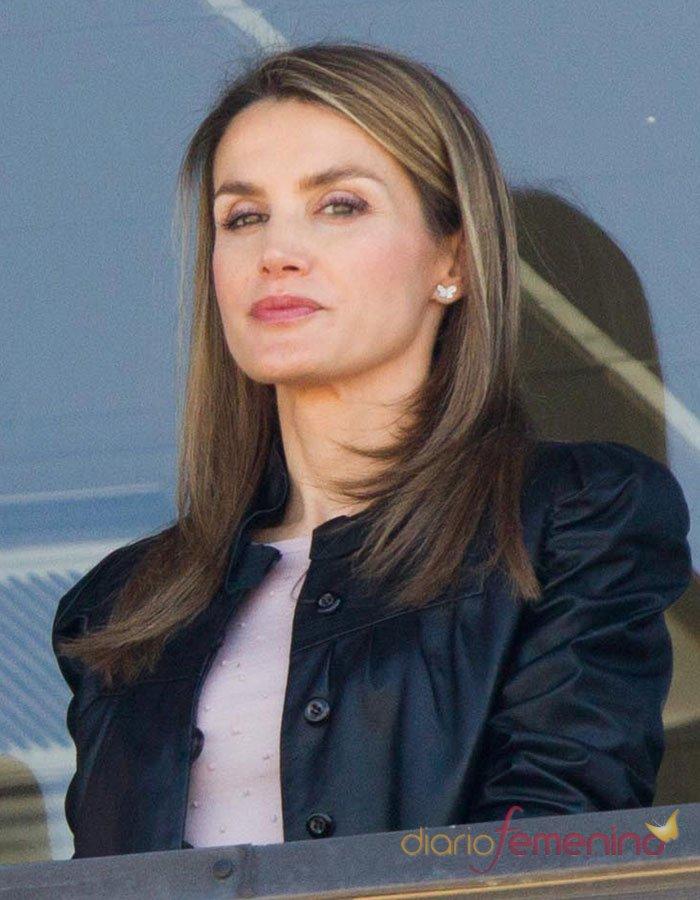 Las caras de Letizia: la princesa segura de sí misma