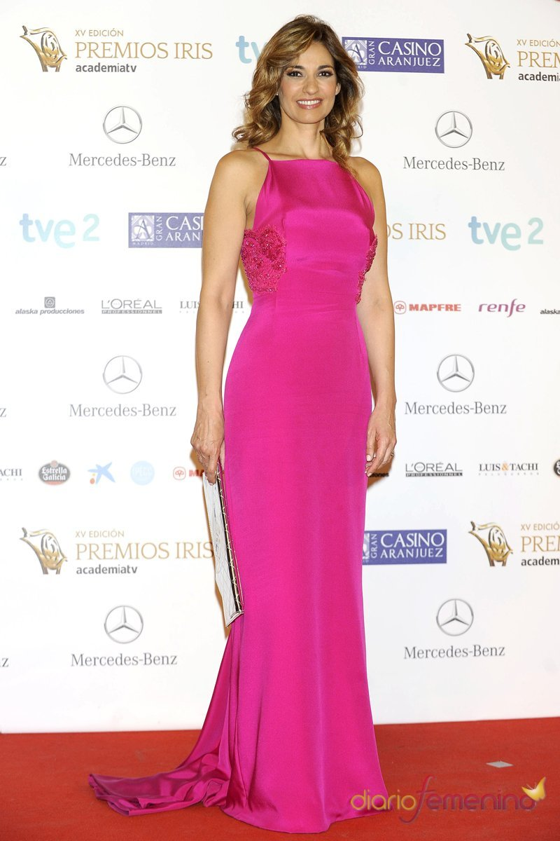 Vestidos de noche: Mariló Montero apuesta por el rosa - Vestidos de ...