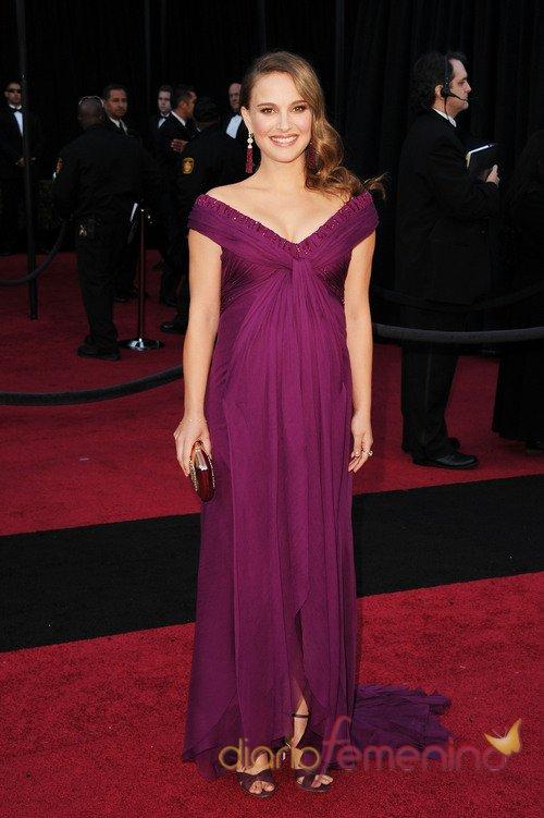Vestidos de noche: Look de Natalie Portman embarazada