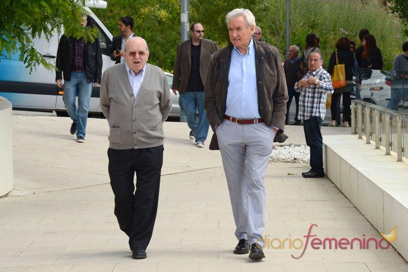 El periodista Luis del Olmo, gran amigo de Constantino Romero