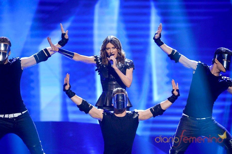 Eurovisión 2013: Los robots de Eslovenia, a la calle