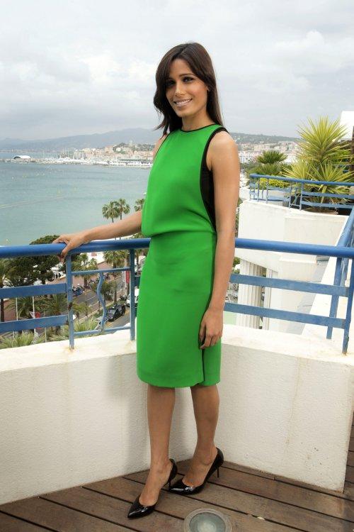 Freida Pinto, la belleza más exótica del Festival de Cannes 2013