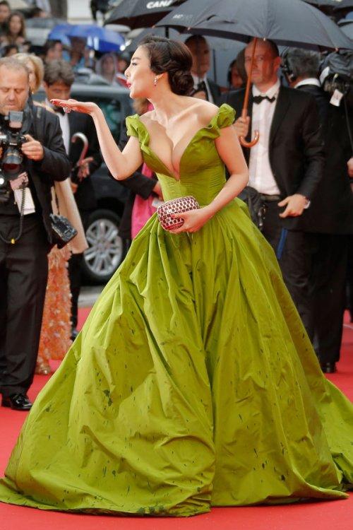 Fan Bing Bing, en el Festival de Cannes 2013