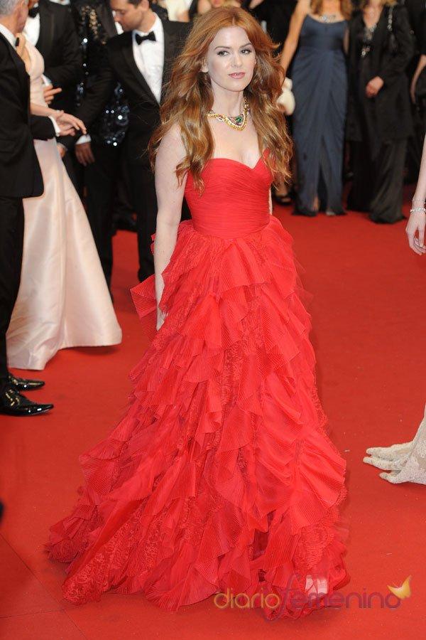 Isla Fisher, en el Festival de Cannes 2013