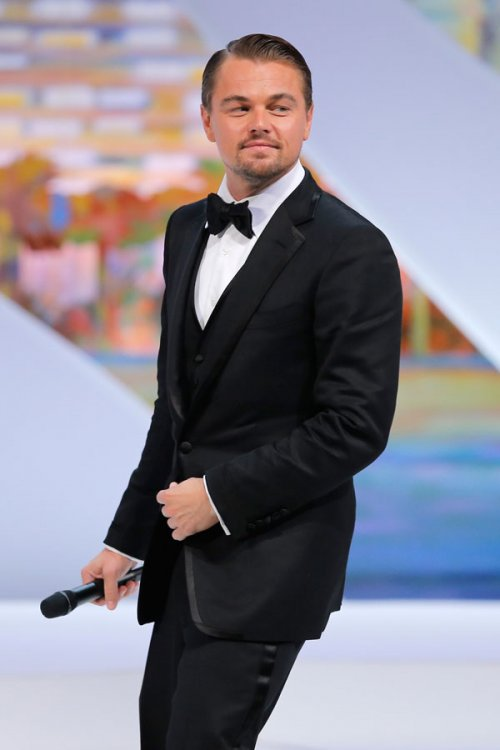 Leonardo Di Caprio, en el Festival de Cannes 2013