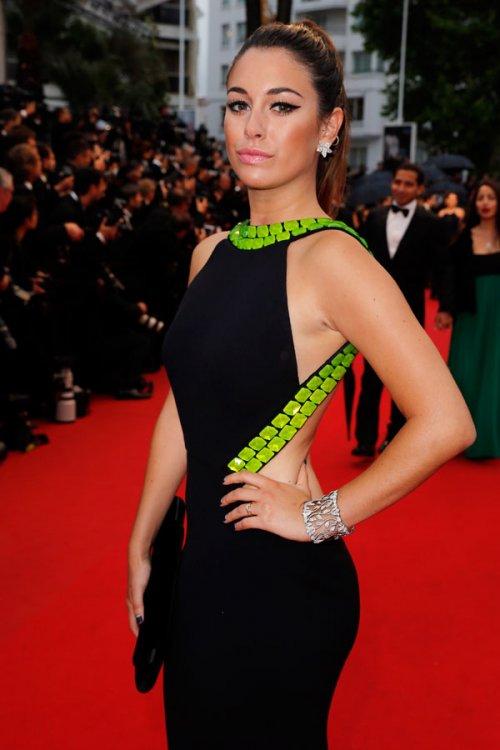 El vestido de Blanca Suárez en el Festival de Cannes 2013