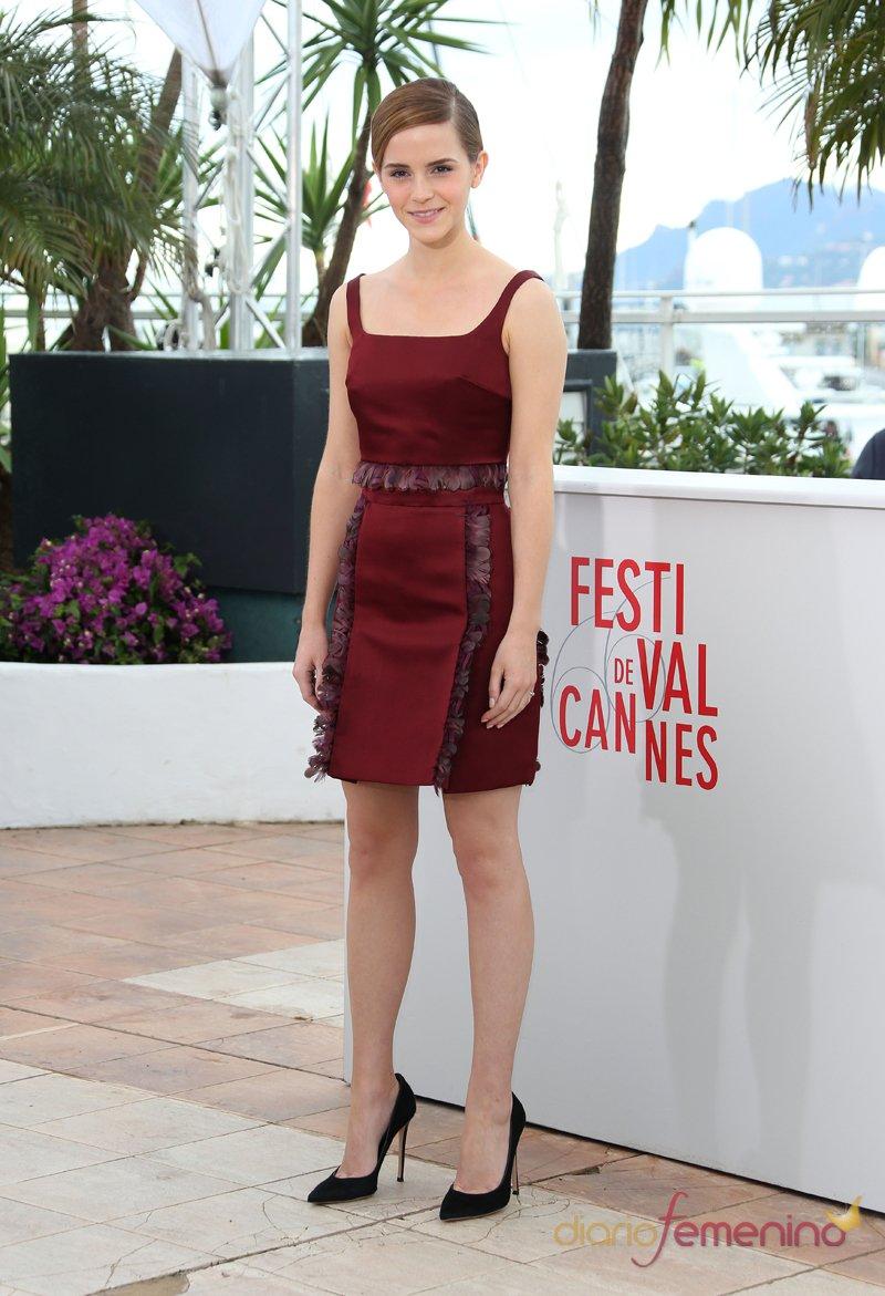 Emma Watson, siempre elegante, en el Festival de Cannes 2013