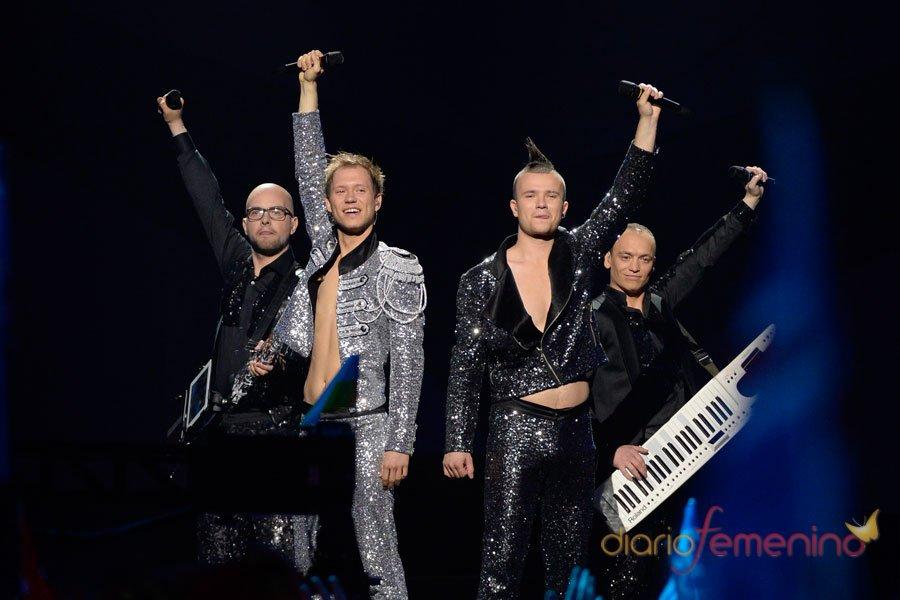 Festival de Eurovisión 2013: Letonia y su invasión de purpurina