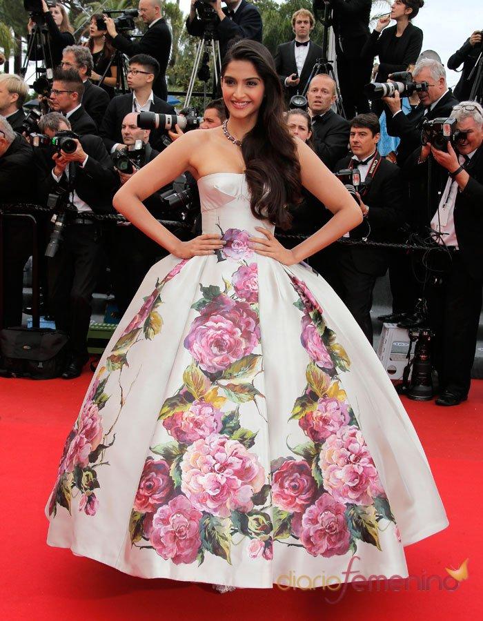 El vestido más de princesa del Festival de Cannes 2013