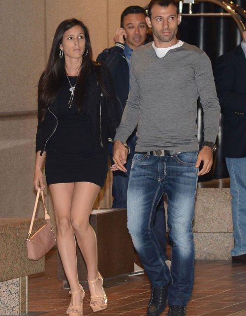 La pareja de Javier Mascherano, a la cena del FC Barcelona