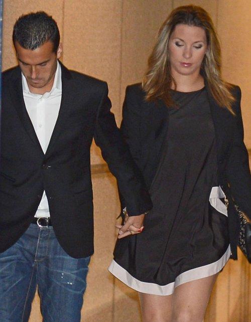 Pedrito y su novia, los recientes papás del FC Barcelona