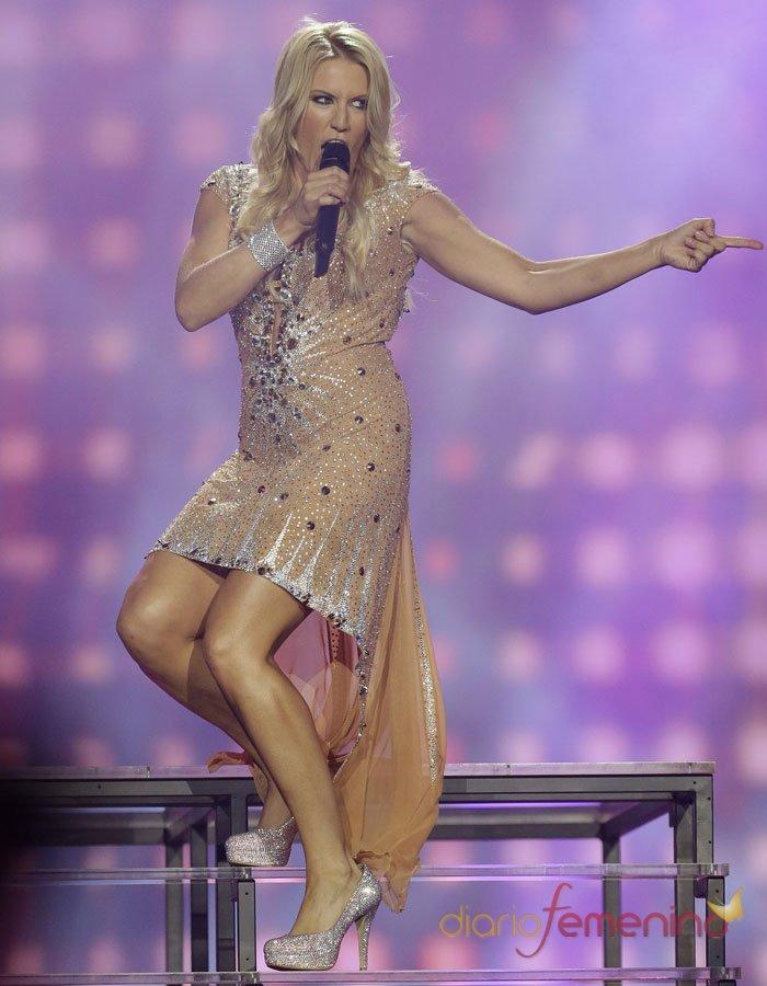 Eurovisión 2013: Alemania durante la final del Festival