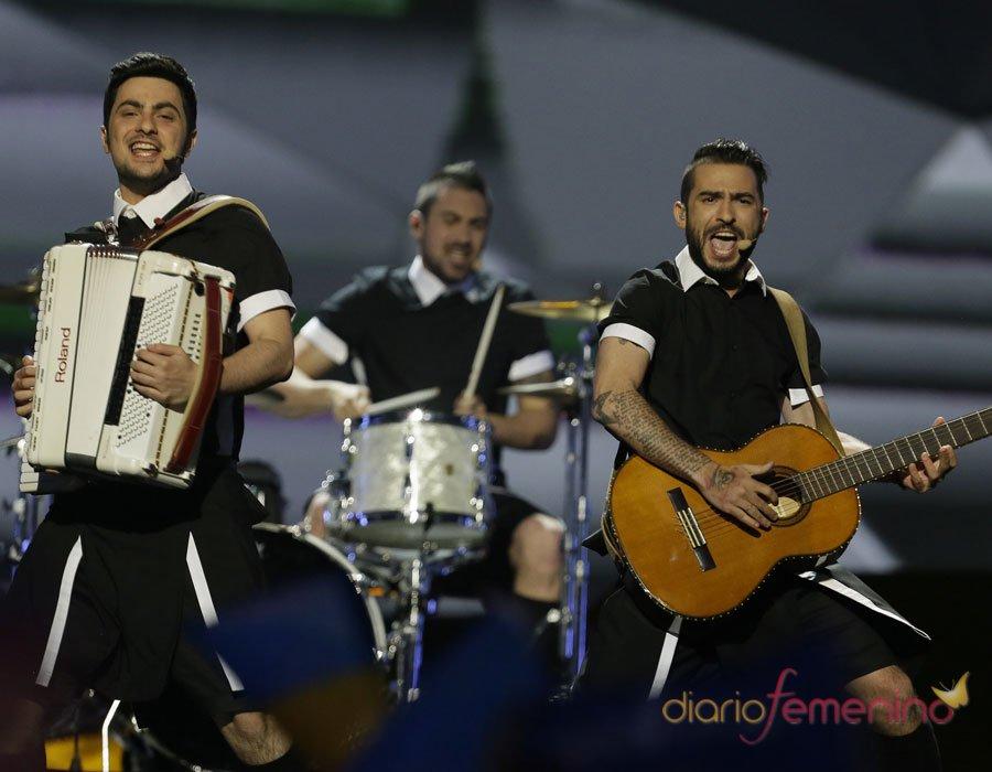 Eurovisión 2013: los representantes griegos en la gran final del festival