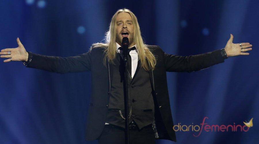 Eurovisión 2013: El cantante de Islandia en la gala final de Suecia