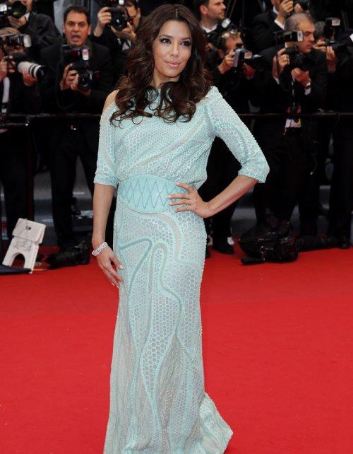Eva Longoria en la alfombra roja de Cannes 2013