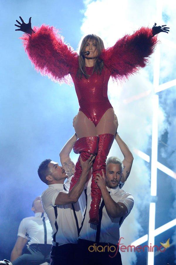 Jennifer Lopez, actuación en los premios Billboard Music Awards 2013
