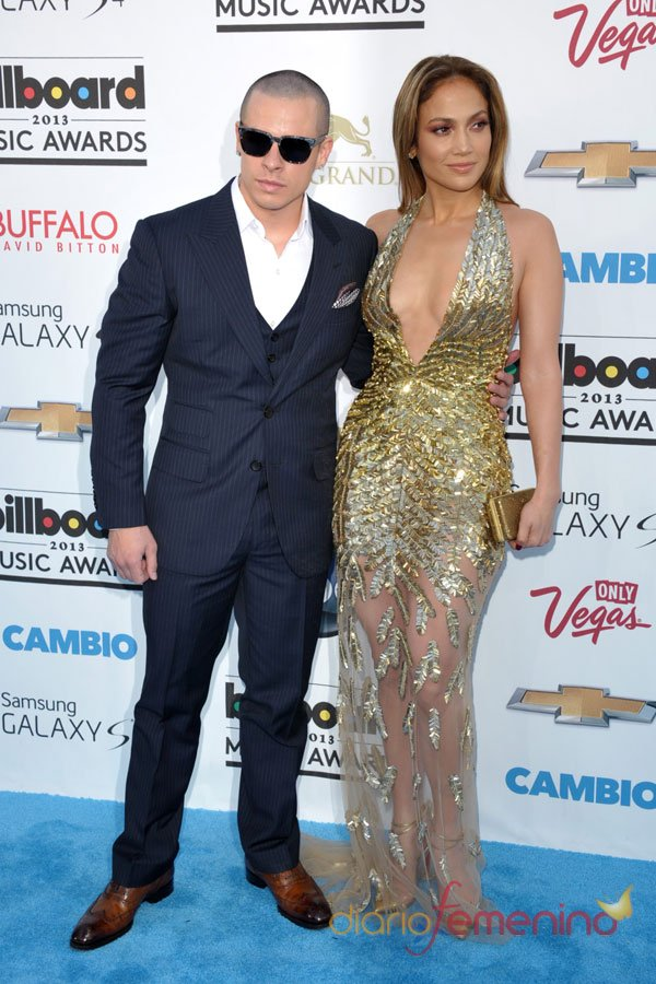 Jennifer López y su novio, Casper Smart, en los Billboard Music Awards 2013