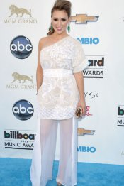 Alyssa Milano, en los premios Billboard Music Awards 2013
