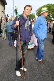 El torero y actor Máximo Valverde vive su fe en la Romería del Rocío 2013