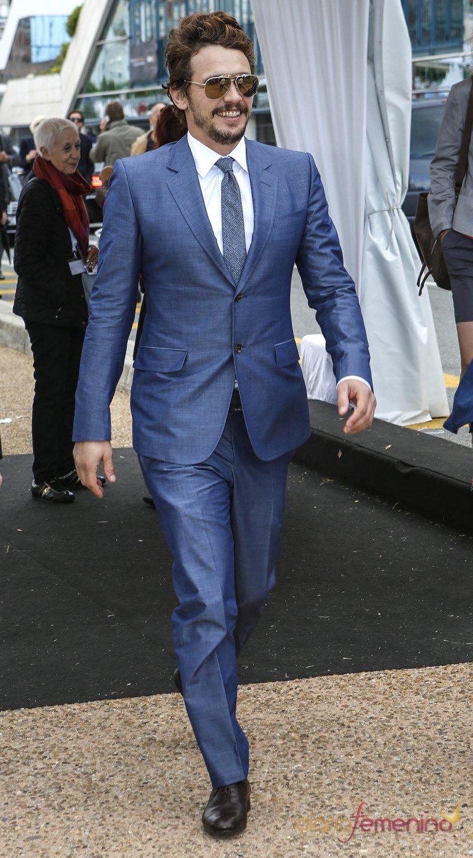 El guapo James Franco cautivó a todos en el Festival de Cannes 2013