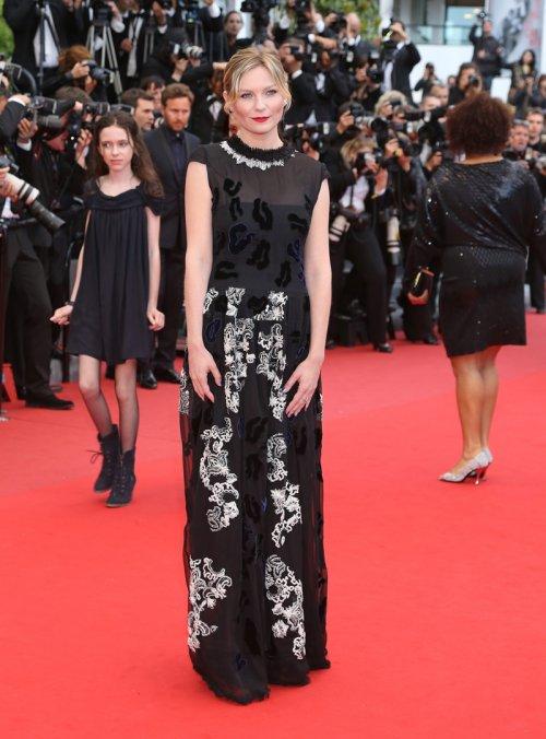 El look de Kirsten Dunst en la alfombra roja del Festival de Cannes 2013