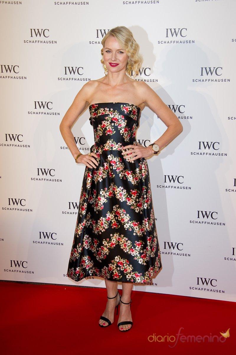 Naomi Watts, con estampado floral en el Festival de Cannes 2013