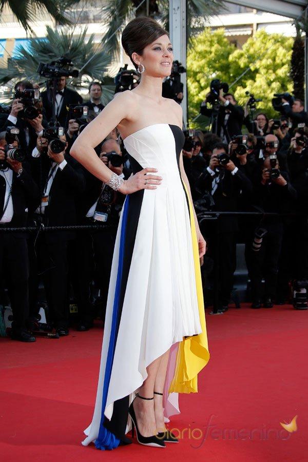 Marion Cotillard, guapísima en el Festival de Cannes 2013
