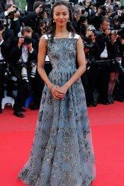 Zoe Saldana, en el Festival de Cannes 2013