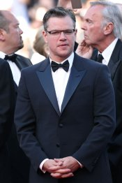Matt Damon, elegantísimo con smoking en Cannes 2013
