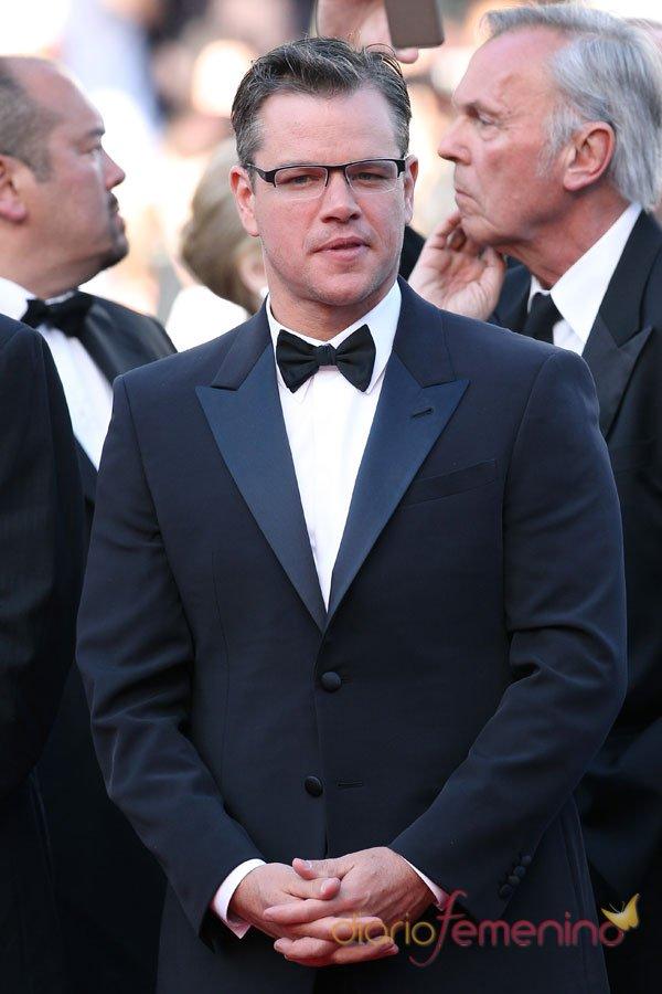Matt Damon, elegantísimo con smoking en Cannes 2013